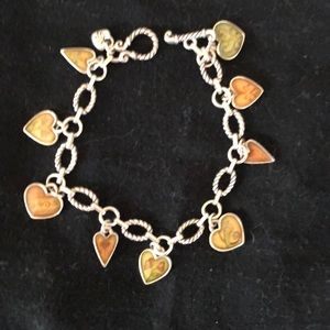 Brighton charm bracelet and matching necklace